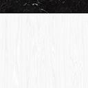 Legno Bianco Top Marmo Nero