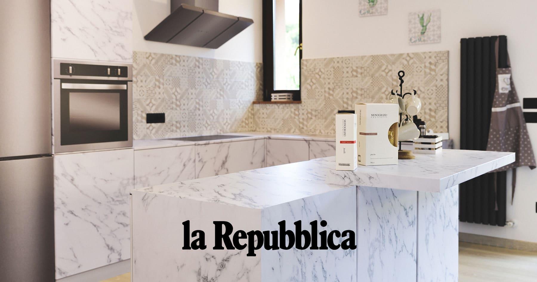 """La Repubblica: """"Vendere casa velocemente si può grazie al nuovo arredo in cartone"""""""